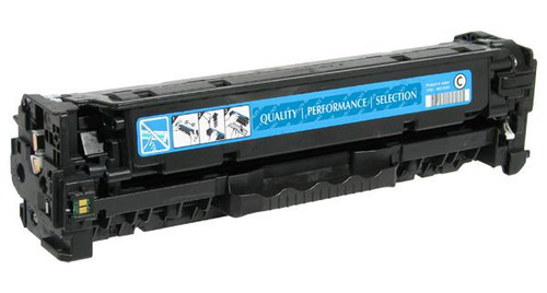 HP 305A (CE411A) Cyan Remanufactured Toner Cartridge [2,600 Pages]
