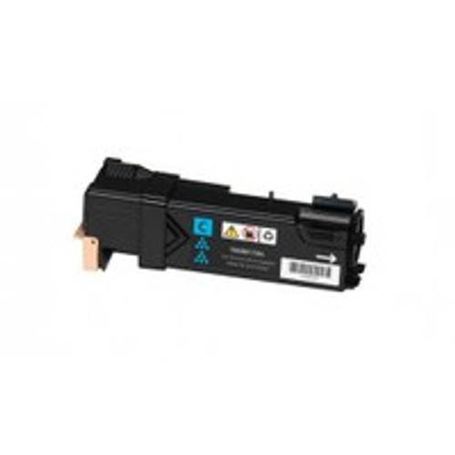 Genuine Xerox 106R01594 Cyan High Yield Toner Cartridge for Phaser 6500, WorkCentre 6505 [2,500 Pages]