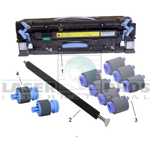 HP C9152A Refurbished Maintenance Kit with Remanufactured Fusing Assembly and OEM rollers for HP 9000, 9040, 9050 - Exchange
