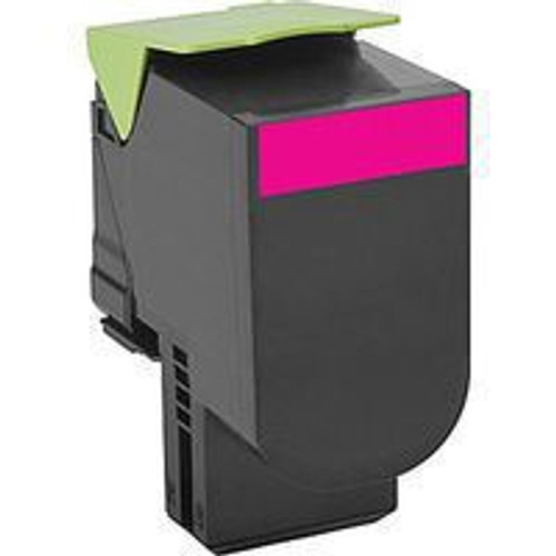 Genuine Lexmark 801HM Magenta High Yield Toner Cartridge for CX410, CX510 [3,000 Pages]