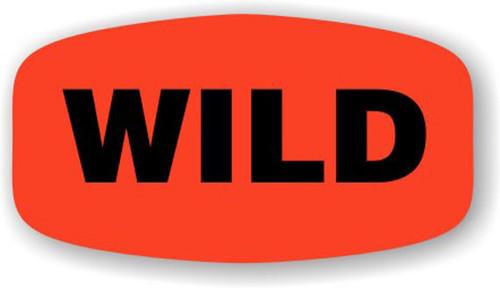 """Wild - No Minimum - .625"""" x 1.25"""" - 1000 per roll"""