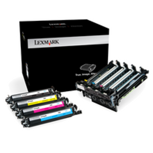 Genuine Lexmark 700Z5 Black and Color High Yield Imaging Kit [40,000 pages]