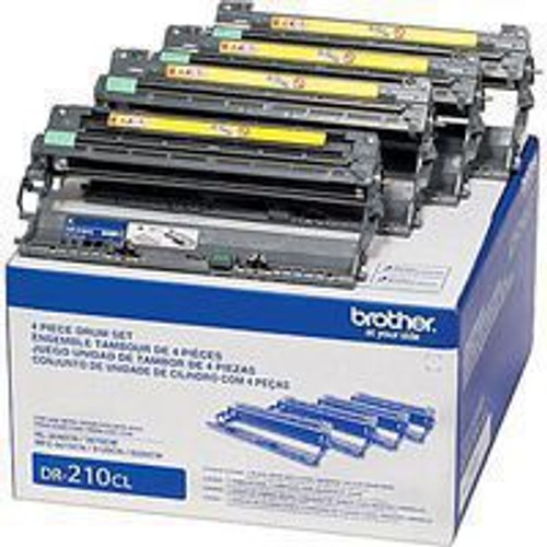Genuine Brother DR-210CL Drum Unit Black and Colors 4-pack [15,000 pages]