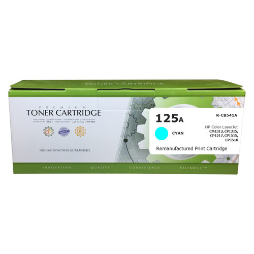 HP CB541A (125A) Cyan Compatible Toner Cartridge [1,400 Pages]