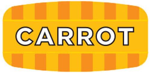 """Mini - Carrot .625"""" x 1.25"""" - 1000 per roll"""