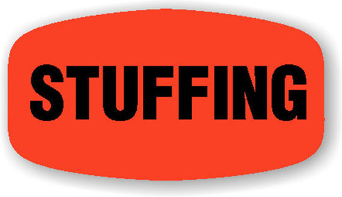 """Stuffing - 10 Roll Minimum - .625"""" x 1.25"""" - 1000 per roll. If you are ordering 10 ROLL MINIMUM Gold Foils or Short Ovals, your ENTIRE ORDER will be shipped in approximately 14 Business Days."""