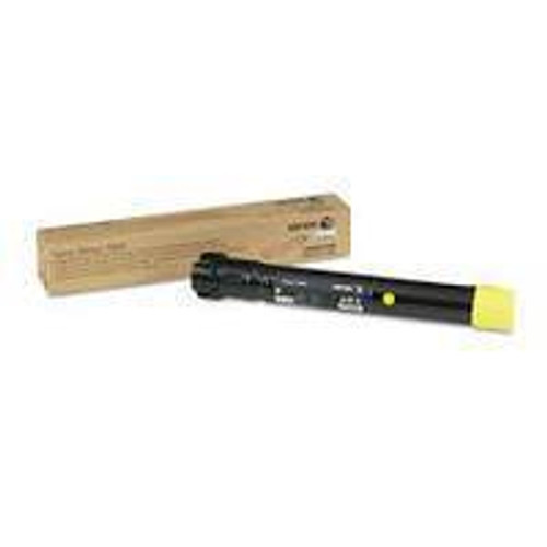 Genuine Xerox 106R01568 Yellow High Yield Toner Cartridge for Phaser 7800 [17,200 Pages]