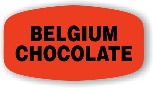 "Belgium Chocolate - 10 Roll Minimum - .625"" x 1.25"" - 1000 per roll. If you are ordering 10 ROLL MINIMUM Gold Foils or Short Ovals, your ENTIRE ORDER will be shipped in approximately 14 Business Days."