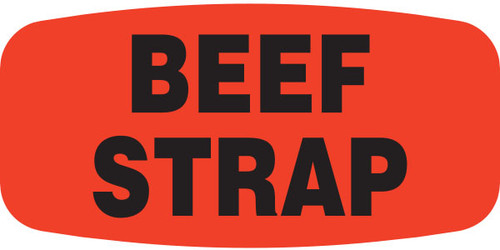 "Beef Strap - 10 Roll Minimum - .625"" x 1.25"" - 1000 per roll. If you are ordering 10 ROLL MINIMUM Gold Foils or Short Ovals, your ENTIRE ORDER will be shipped in approximately 14 Business Days."