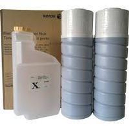 Genuine Xerox 006R01046 Black Toner Bottle 2-Pack with One Waste Toner Bottle [30,000 pages]
