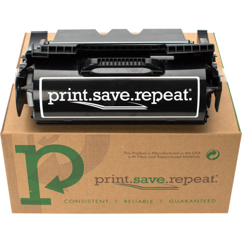 Print.Save.Repeat. Lexmark 64435XA Extra High Yield Remanufactured Toner Cartridge for T644 [32,000 Pages]