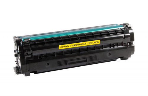 Samsung CLT-Y506L Yellow High Yield Remanufactured Toner Cartridge [3,500 Pages]