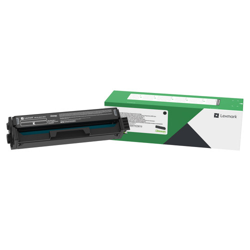 OEM Lexmark C3210K0 Black Standard Yield Toner Cartridge for C3224, C3326, MC3224, MC3326 [1,500 Pages]