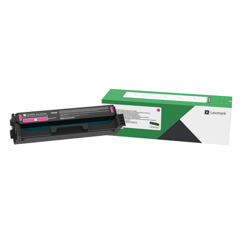 OEM Lexmark C331HM0 Magenta High Yield Toner Cartridge for C3326, MC3326 [2,500 Pages]