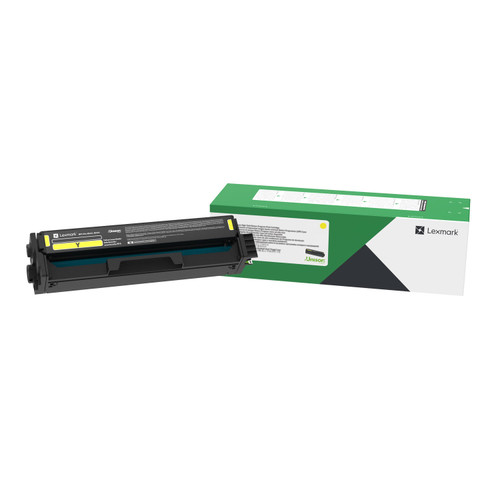 OEM Lexmark C331HY0 Yellow High Yield Toner Cartridge for C3326, MC3326 [2,500 Pages]