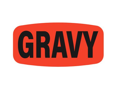 Gravy Label | Roll of 1,000