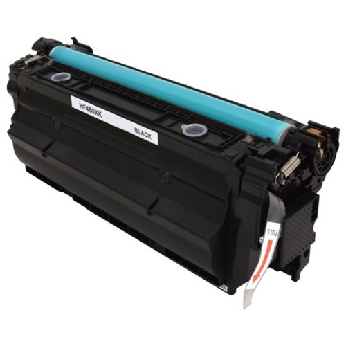 HP 656X (CF460X) Black Compatible Toner Cartridge for Color LaserJet Enterprise M652, M653