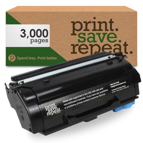 Lexmark 55B1000 Remanufactured Toner Cartridge for MS331, MS431, MX331, MX431 [3,000 Pages]