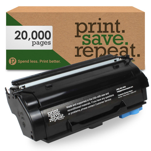 Lexmark 55B1X00 Extra High Yield Remanufactured Toner Cartridge for MS431, MX431 [20,000 Pages]