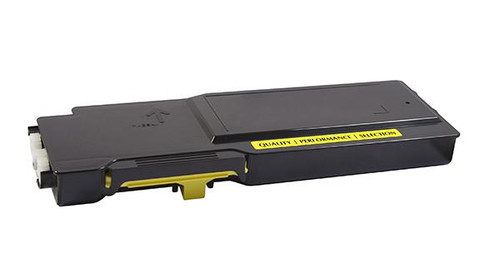 Dell 2K1VC Yellow High Yield Remanufactured Toner Cartridge [4,000 Pages]