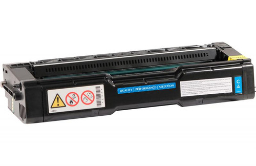 Ricoh 406476 Cyan High Yield Remanufactured Toner Cartridge [6,500 Pages]