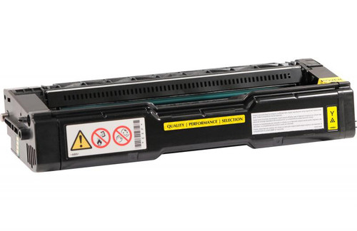 Ricoh 406478 Yellow High Yield Remanufactured Toner Cartridge [6,500 Pages]