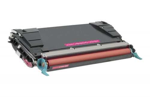 Lexmark C5240MH Magenta High Yield Remanufactured Toner Cartridge [5,000 Pages]