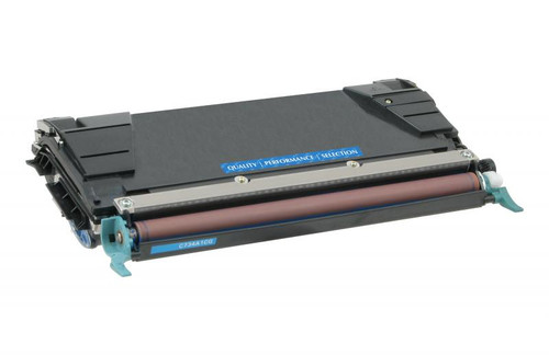 Lexmark C734A1CG Cyan Remanufactured Toner Cartridge [6,000 Pages]
