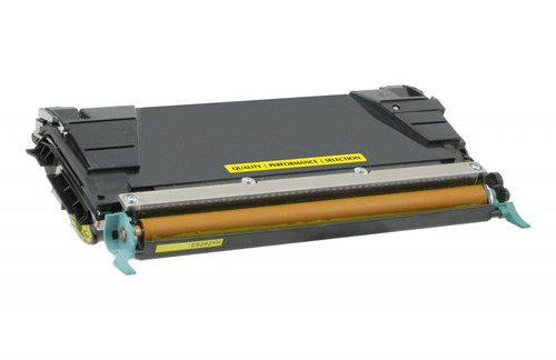 Lexmark C734A1YG Yellow Remanufactured Toner Cartridge [6,000 Pages]