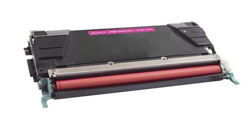 Lexmark C736H1MG Magenta High Yield Remanufactured Toner Cartridge [10,000 Pages]