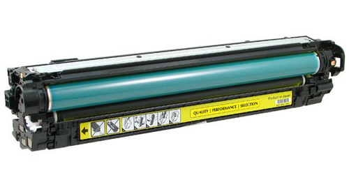 HP 650A (CE272A) Yellow Remanufactured Toner Cartridge [15,000 Pages]