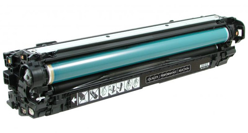HP 651A (CE340A) Black Remanufactured Toner Cartridge [13,500 Pages]