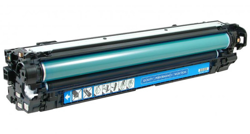 HP 651A (CE341A) Cyan Remanufactured Toner Cartridge [16,000 Pages]