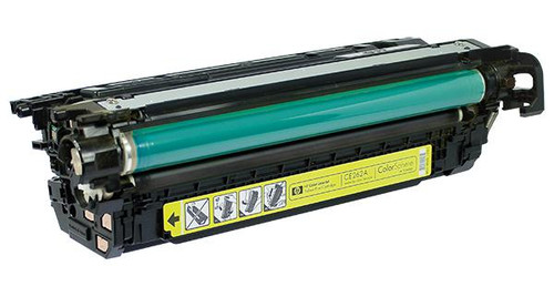 HP 646A (CF032A) Yellow Remanufactured Toner Cartridge [12,500 Pages]