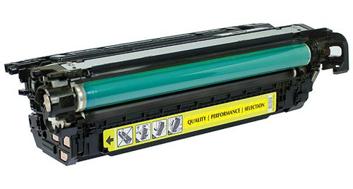 HP 654A (CF332A) Yellow Remanufactured Toner Cartridge [15,000 Pages]
