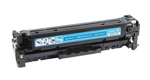 HP 312A (CF381A) Cyan Remanufactured Toner Cartridge [2,700 Pages]