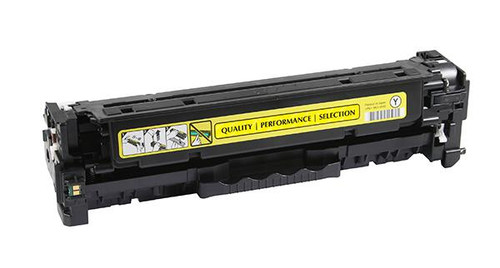 HP 312A (CF382A) Yellow Remanufactured Toner Cartridge [2,700 Pages]
