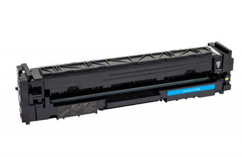 HP 202A (CF501A) Cyan Remanufactured Toner Cartridge [1,300 Pages]
