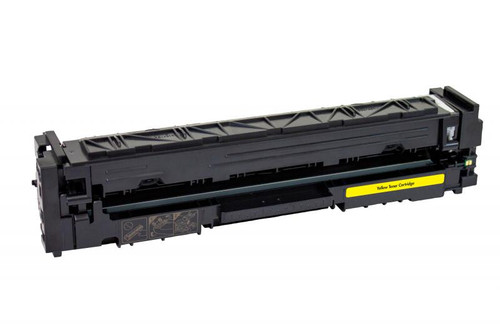 HP 202A (CF502A) Yellow Remanufactured Toner Cartridge [1,300 Pages]