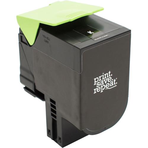 Print.Save.Repeat. Lexmark 701HK Black High Yield Remanufactured Toner Catridge for CS310, CS410, CS510 [4,000 Pages]