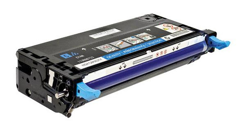 Dell H513C Cyan High Yield Remanufactured Toner Cartridge [9,000 Pages]