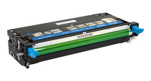 Dell PF029 Cyan High Yield Remanufactured Toner Cartridge [8,000 Pages]