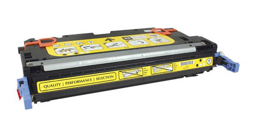 HP 314A (Q7562A) Yellow Remanufactured Toner Cartridge [3,500 Pages]
