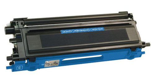 Brother TN110C Cyan Remanufactured Toner Cartridge [1,500 Pages]