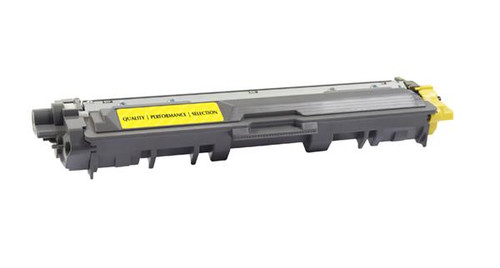 Brother TN221Y Yellow Remanufactured Toner Cartridge [1,400 Pages]