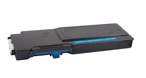 Dell TW3NN Cyan High Yield Remanufactured Toner Cartridge [4,000 Pages]
