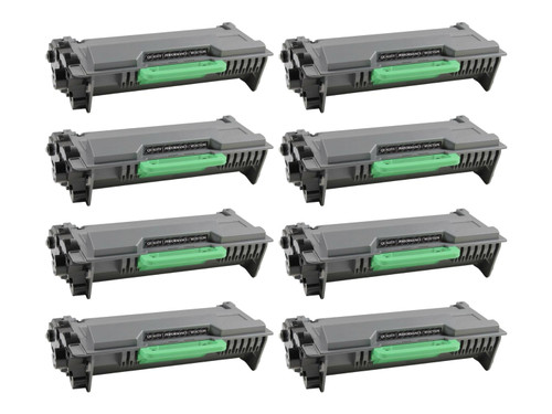 Brother TN850 Compatible Toner Cartridge - 8 Pack [64,000 Pages]