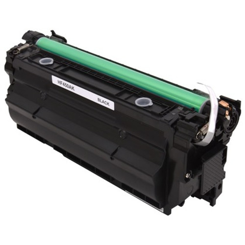 HP 655A Black (CF450A) Standard Yield Compatible Toner Cartridge [12,500 Pages]