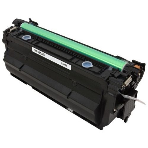 HP 655A Cyan (CF451A) Standard Yield Compatible Toner Cartridge [10,500 Pages]
