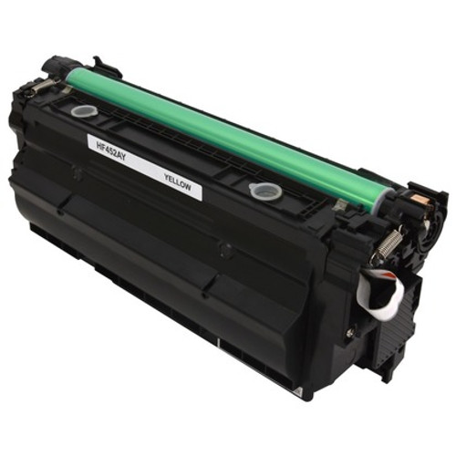 HP 655A Yellow (CF452A) Standard Yield Compatible Toner Cartridge [10,500 Pages]